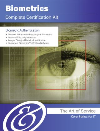 Biometrics Complete Certification Kit - Core Series for IT