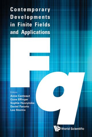 Contemporary Developments In Finite Fields And Applications