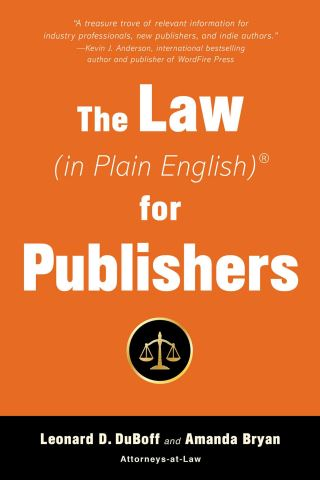 The Law (in Plain English) for Publishers