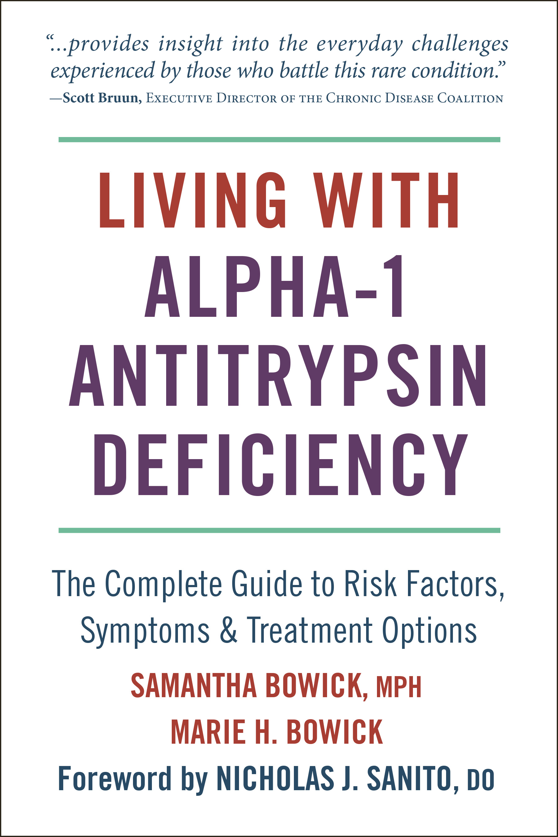 Living with Alpha-1 Antitrypsin Deficiency (A1AD)