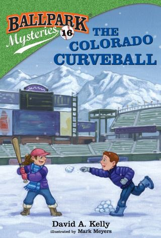 Ballpark Mysteries #16: The Colorado Curveball