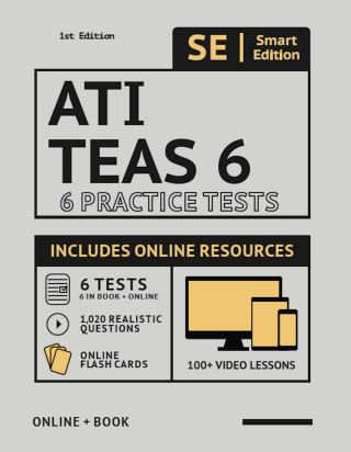 ATI TEAS 6 Practice Tests Workbook