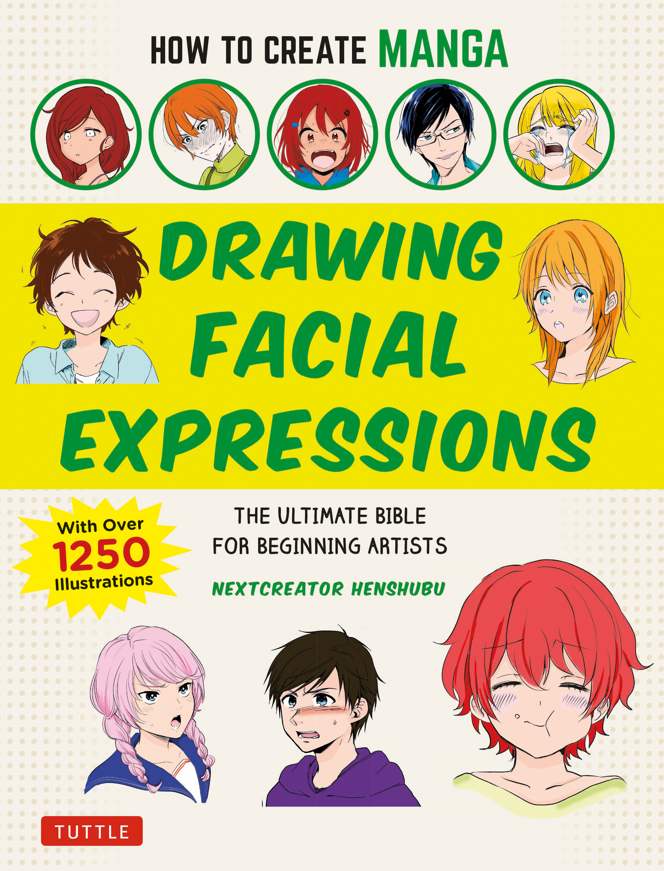 How to Create Manga: Drawing Facial Expressions