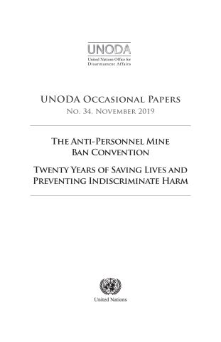 UNODA Occasional Papers No. 34