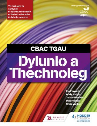 CBAC TGAU Dylunio a Thecnoleg (WJEC GCSE Design and Technology Welsh Language Edition)