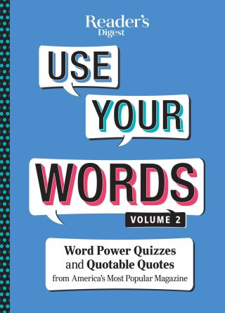 Reader's Digest Use Your Words vol 2