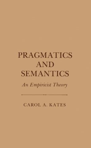 Pragmatics and Semantics