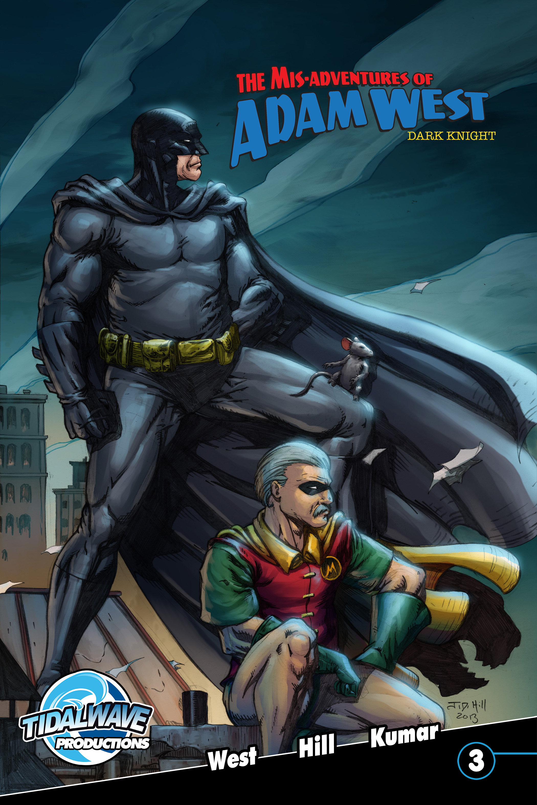 Misadventures of Adam West: Dark Night #3