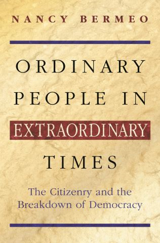 Ordinary People in Extraordinary Times