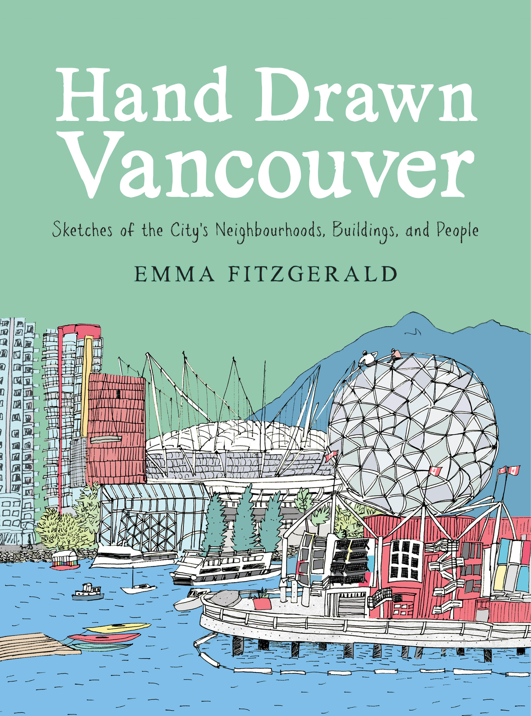 Hand Drawn Vancouver