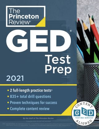 Princeton Review GED Test Prep, 2021