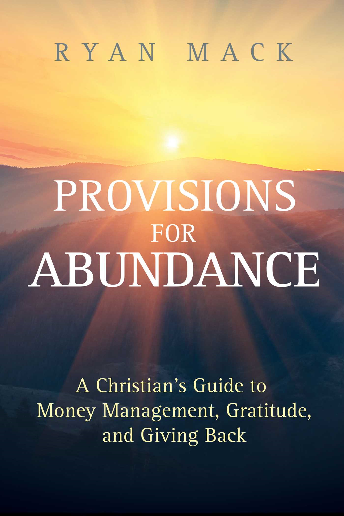 Provisions for Abundance