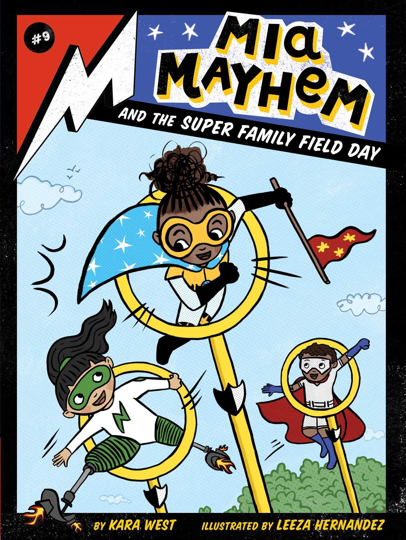 Mia Mayhem and the Super Family Field Day