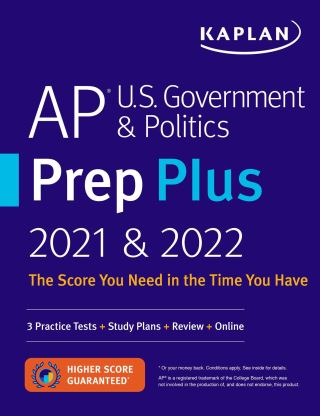 AP U.S. Government & Politics Prep Plus 2021 & 2022