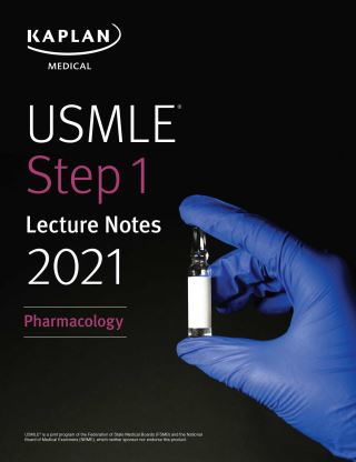 USMLE Step 1 Lecture Notes 2021: Pharmacology