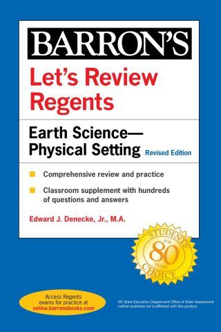 Let's Review Regents: Earth Science--Physical Setting Revised Edition