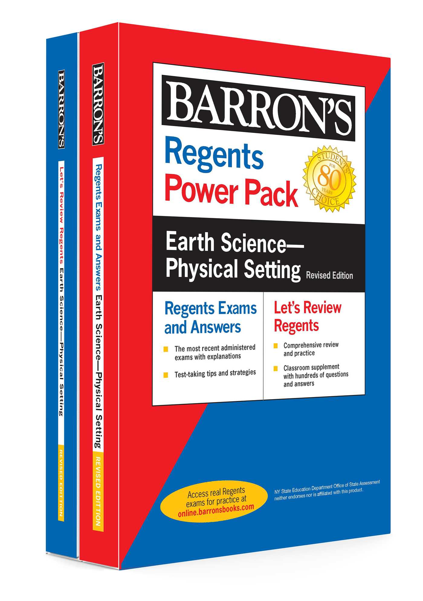 Regents Earth Science--Physical Setting Power Pack Revised Edition