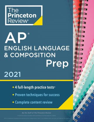 Princeton Review AP English Language & Composition Prep, 2021