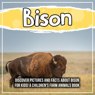 Bison: Discover Pictures and Facts About Bison For Kids! A Children's Farm Animals Book