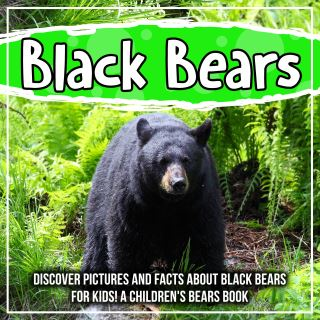 Black Bears: Discover Pictures and Facts About Black Bears For Kids! A Children's Bears Book