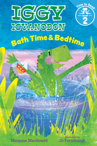 Bath Time & Bedtime (Iggy Iguanadon: Time to Read, Level 2)