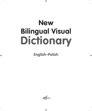 New Bilingual Visual Dictionary (English–Polish)
