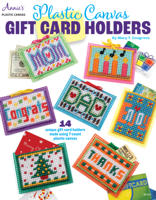 Plastic Canvas Gift Card Holders
