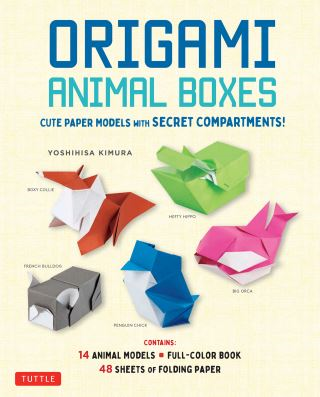 Origami Animal Boxes Kit