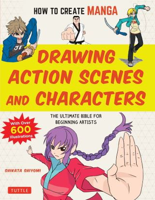 How to Create Manga: Drawing Action Scenes and Characters