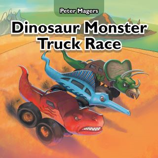 Dinosaur Monster Truck Race