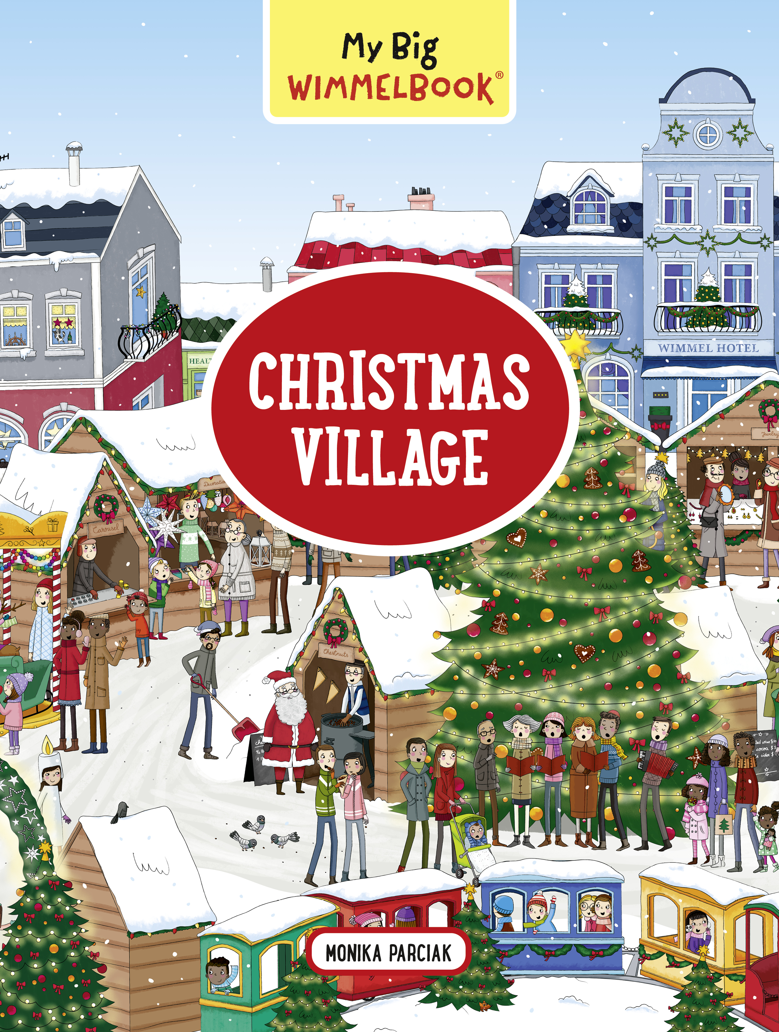 My Big Wimmelbook—Christmas Village