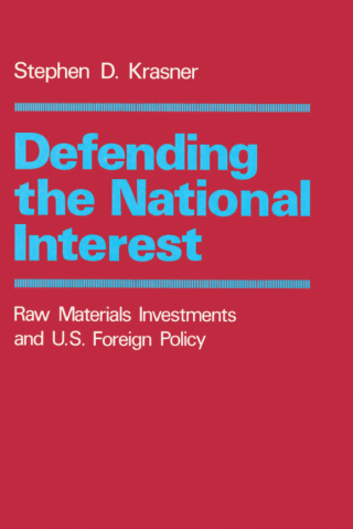 Defending the National Interest
