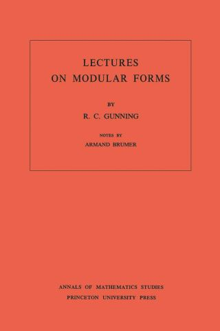 Lectures on Modular Forms. (AM-48), Volume 48
