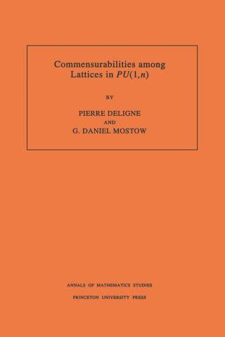 Commensurabilities among Lattices in PU (1,n). (AM-132), Volume 132