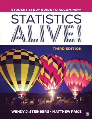 Student Study Guide to Accompany Statistics Alive!
