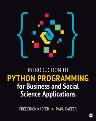 Introduction to Python Programming for Business and Social Science Applications