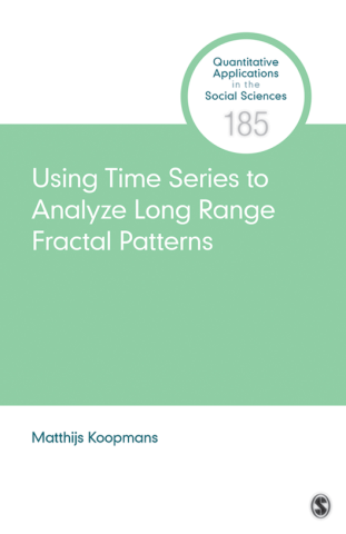 Using Time Series to Analyze Long-Range Fractal Patterns
