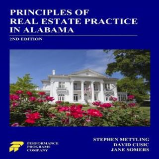 Principles of Real Estate Practice in Alabama 2nd Edition