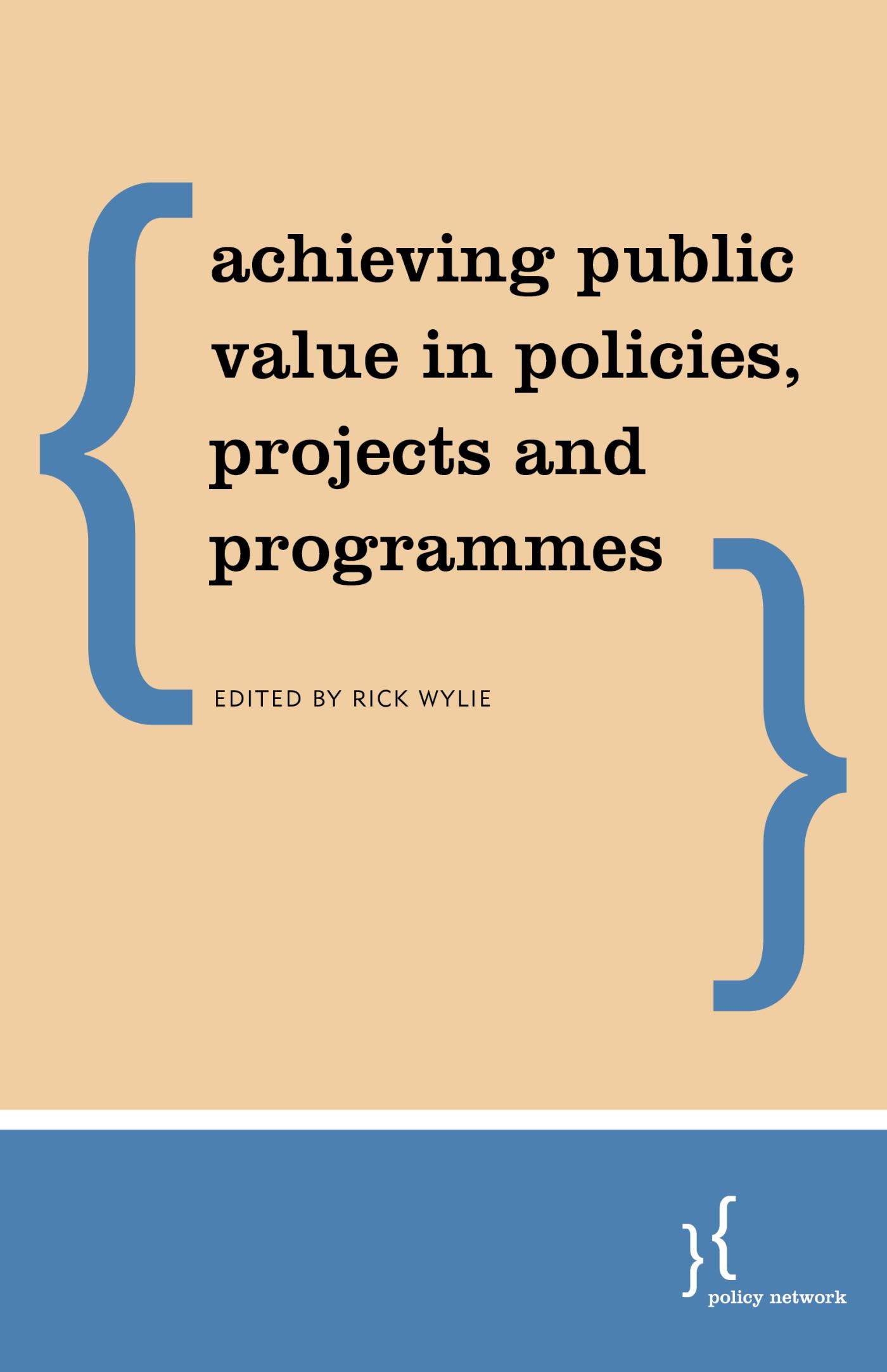 Public Value Management