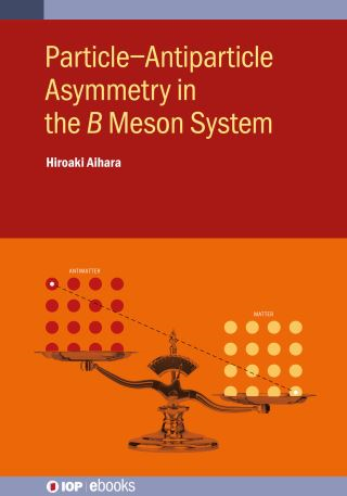 Particle–Antiparticle Asymmetry in the 𝐵 Meson System