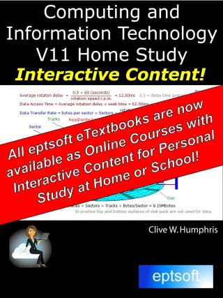 Computing and Information Technology V11 Home Study