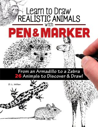 Learn to Draw Realistic Animals with Pen & Marker