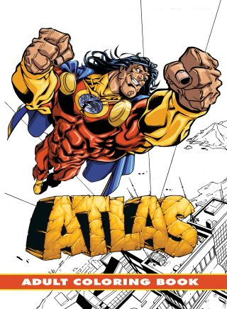Atlas: Adult Coloring Book