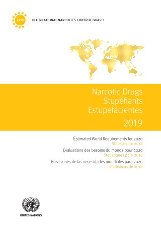Narcotics Drugs 2019/Stupéfiants 2019/Estupefacientes 2019
