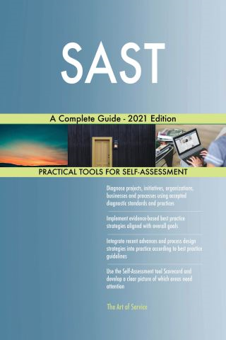 SAST A Complete Guide - 2021 Edition