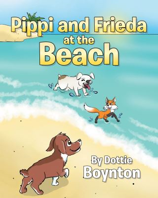 Pippi and Frieda at the Beach