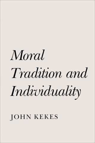 Moral Tradition and Individuality