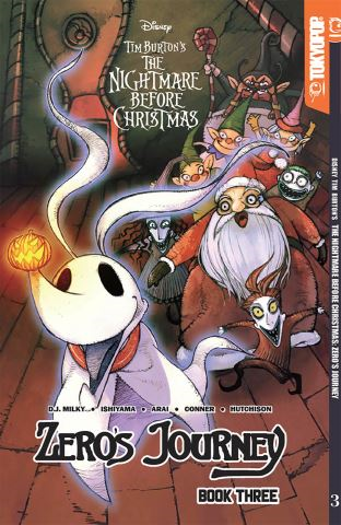 Disney Manga: Tim Burton's The Nightmare Before Christmas -- Zero's Journey Graphic Novel Book 3