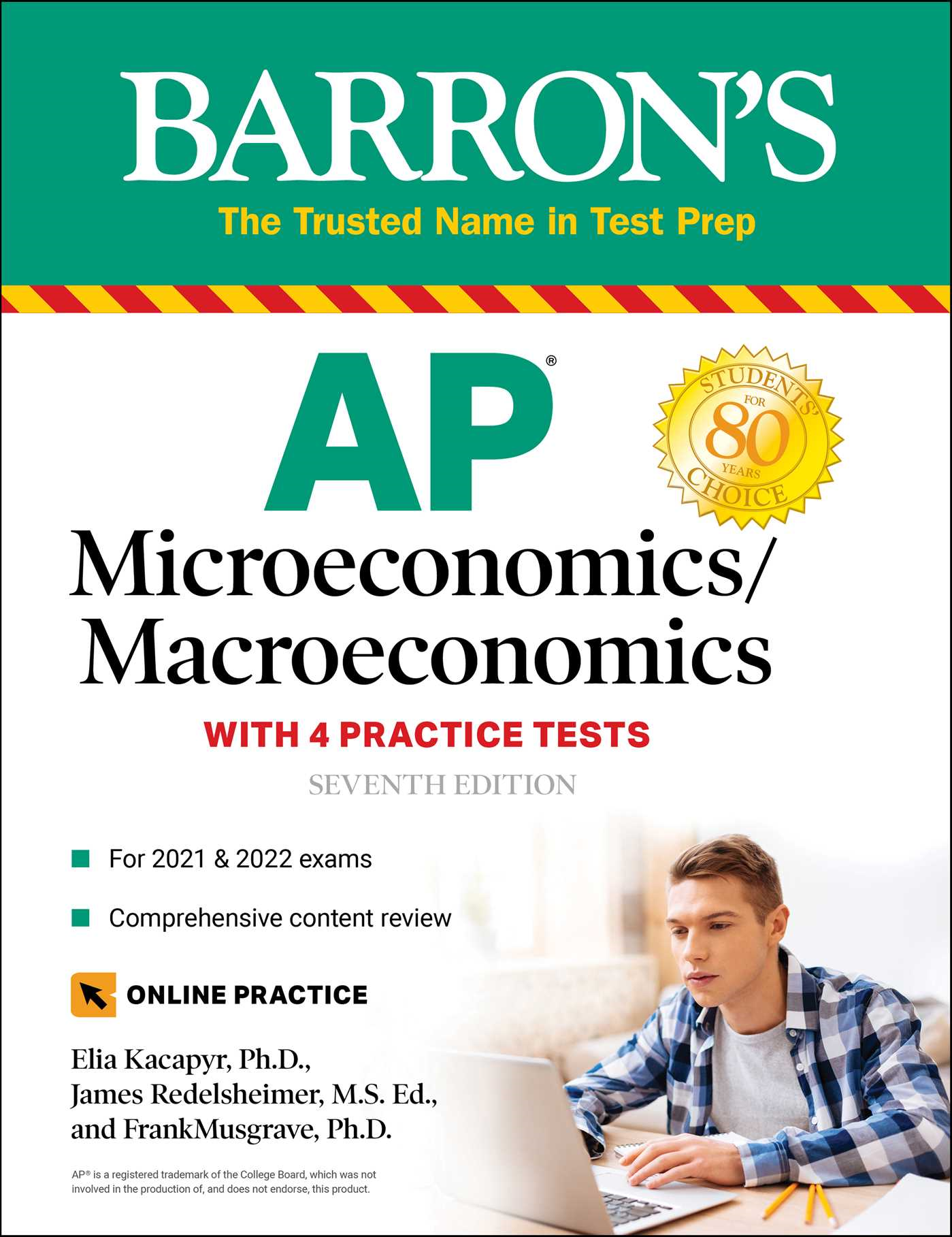 AP Microeconomics/Macroeconomics with 4 Practice Tests