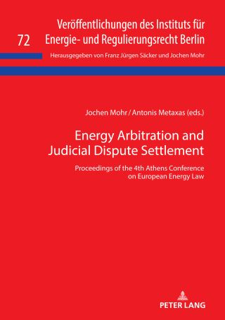 Energy Arbitration and Judicial Dispute Settlement